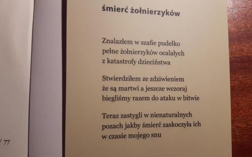 Nowy Tomik Poezji Kolegi Zdzisława Antolskiego żeromszczacy